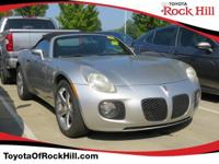 We are excited to offer this 2007 Pontiac Solstice.