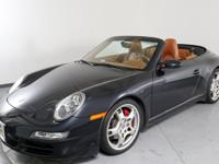 Clean CARFAX. Atlas Gray Metallic 2007 Porsche 911