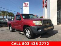 Impulse Red Pearl 2007 Toyota Tacoma RWD 5-Speed Manual