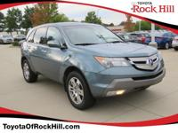 We are excited to offer this 2008 Acura MDX. Only the