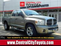 Look at this 2008 Dodge Ram 1500 Laramie. Its Automatic
