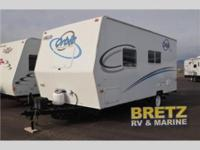 Used 2008 Fleetwood RV Orbit 180FQ Travel Trailer! This
