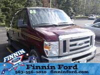 This Ford E-350SD is well equipped and includes the