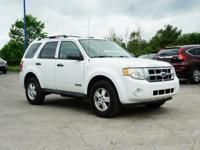 2008 Ford Escape, ~ CLEAN CARFAX ~, ~ LOCAL TRADE ~,