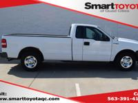 Oxford White Clearcoat 2008 Ford F-150 XL RWD 4-Speed