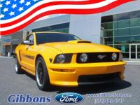 Clean CARFAX. 2008 Ford Mustang GT Premium Well