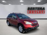 2008 Honda CR-V Red EX RECENT BERTERA TRADE IN, ONE