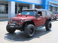 Winch, Custom Fenders, Custom Top, Aftermarket Bumpers,