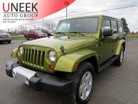 Very well kept 2008 Wrangler Sahara. This Jeep is very