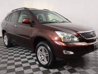 Red 2008 Lexus RX 350 AWD 5-Speed Automatic with