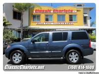 Used 2008 Nissan Pathfinder LE for sale in San Diego.