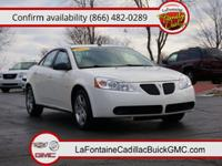 Body Style: Sedan Exterior Color: Ivory White Interior