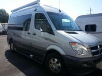 Used 2008 Roadtrek Agile Mercedes Diesel Sprinter Fretz
