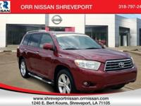 Salsa Red Pearl 2008 Toyota Highlander Limited FWD