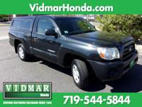 2008 Toyota Tacoma 2.7L I4 SMPI DOHC 5-Speed Manual