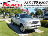 Hurry on in cause this 2008 TOYOTA TACOMA TRD SPORT