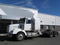 2008 Western Star 4900 tandem axle tractor. Mileage is