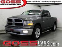 2009 Dodge Ram 1500 SLT Quad Cab 4WD 5-Speed Automatic