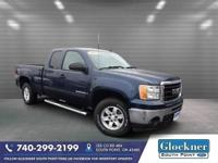 2009 Midnight Blue Metallic GMC Sierra 1500 SLE One