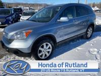 Blue 2009 Honda CR-V EX-L AWD 5-Speed Automatic 2.4L I4