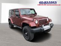 Red Rock Crystal Pearl 2009 Jeep Wrangler Unlimited