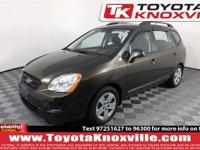 CARFAX One-Owner. Java 2009 Kia Rondo EX V6 FWD 5-Speed