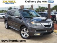 This 2010 Acura MDX Technology in Grigio Metallic