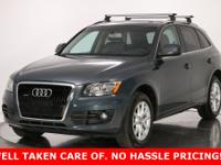 Clean CARFAX. Meteor Gray Pearl Effect 2010 Audi Q5 3.2
