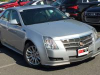 This Economy Certified 2010 Cadillac CTS Sedan Luxury