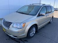 2010 Chrysler Town & Country Limited medium pebble