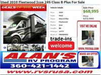 MORE RVS AVAILABLE AT WWW.RVSRUSA.COM. CALL FOR ALAN'S