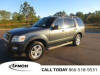 OVERVIEWThis 2010 Ford Explorer 4dr XLT features a 4.0L
