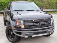 Black 2010 Ford F-150 SVT Raptor SVT6-Speed Automatic