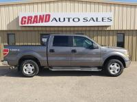 Silver 2010 Ford F-150 XLT 4WD 6-Speed Automatic