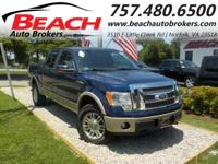 You won???t want to miss out on this 2010 FORD F-150