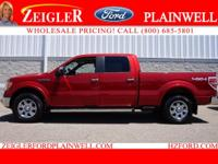 POWER MOONROOF - HEATED AND COOLED LEATHER - LARIAT