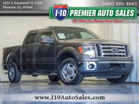 Clean CARFAX. Sterling Gray Metallic 2010 Ford F-150