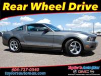 LOCAL TRADE IN, Mustang V6, 2D Coupe, 4.0L V6, 5-Speed