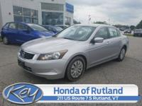 New Price! Alabaster Silver Metallic 2010 Honda Accord