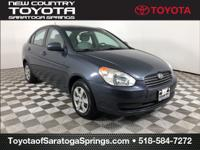 Charcoal Gray Pearl 2010 Hyundai Accent GLS FWD 4-Speed