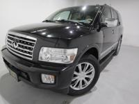 Clean CARFAX. 2010 INFINITI QX56 4WD 5-Speed Automatic