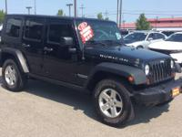 This 2010 Jeep Wrangler Unlimited Rubicon is proudly