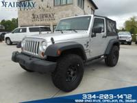 2010 Jeep Wrangler Sport with only 75,000 miles. Manual
