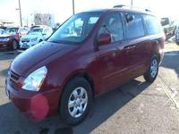 Body Style: Mini-Van Exterior Color: Red Interior