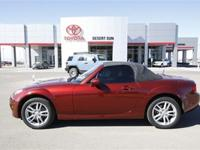 Body Style: Convertible Exterior Color: red Interior