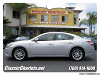 Used 2010 Nissan Maxima 3.5 SV for sale in San Diego.