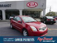 2010 Nissan Sentra 2.0 S Experience the Ray Brandt
