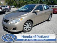Bronze 2010 Toyota Corolla FWD 4-Speed Automatic 1.8L