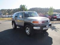 2010 Toyota FJ Cruiser 4WD 5-Speed Automatic 4.0L V6