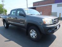 This One Owner Clean CarFax 2010 TOYOTA TACOMA BASE 4WD